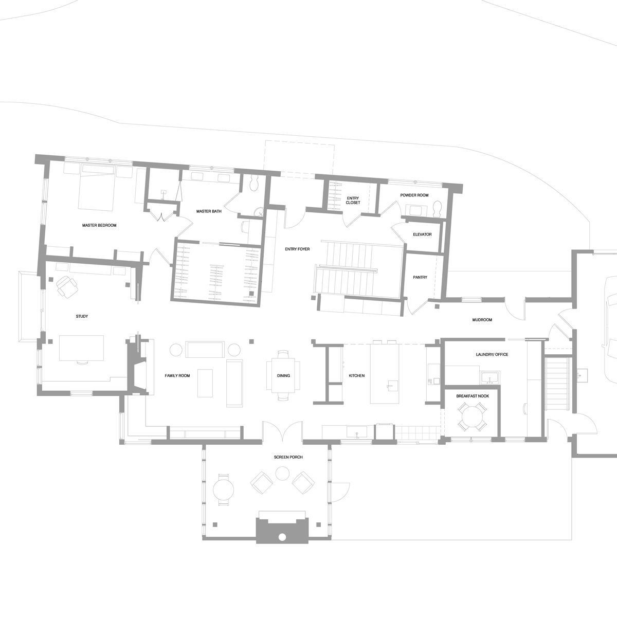 entry level plan timber frame.