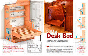 Build a Desk Bed