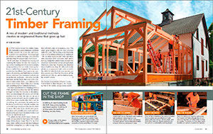 21st-Century Timber Framing