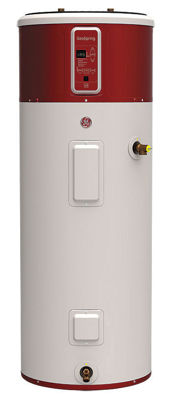 GE hybrid water heater