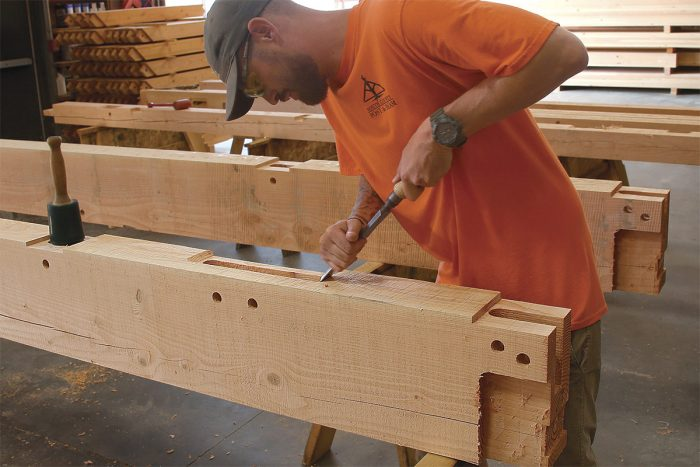 Fine-tune the joinery