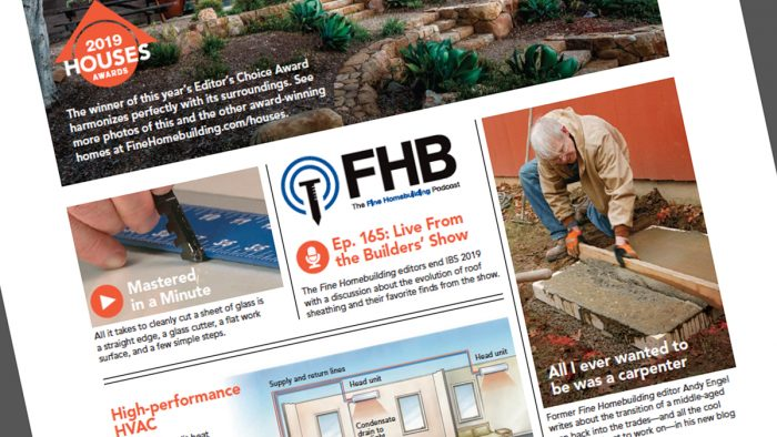 Fine Homebuilding Issue 283 Online Highlights Fine Homebuilding