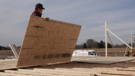 Sheathing the Floor System