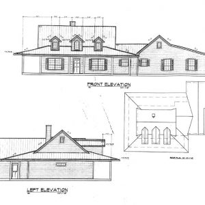 Texas Front Elevation