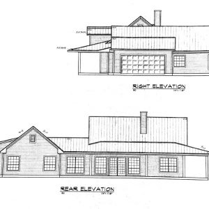 Texas Rear Elevation
