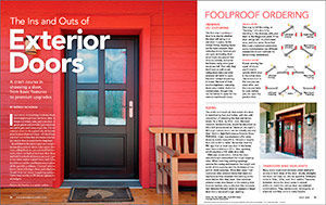 The Ins and Outs of Exterior Doors Spread