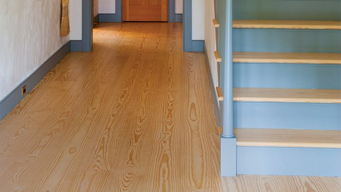 ... But Uncoated Wood Isnu0027t A Smart Choice For Hardwood Flooring, And Even  The Most Matte Polyurethane Still Looks Like Polyurethane. For Me, Bona  Traffic ...