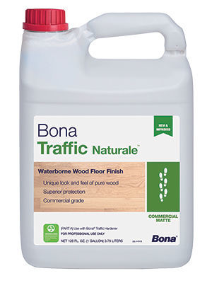 Bona Traffic Naturale wood floor finish