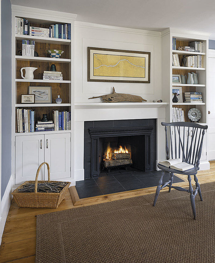 Project House Video Series: Built-in Bookcases in an Antique Home
