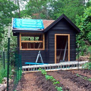 Matt's shed