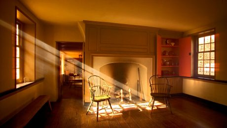 restoring colonial American houses