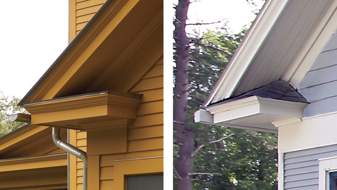 Two Styles Of Cornice Return Fine Homebuilding