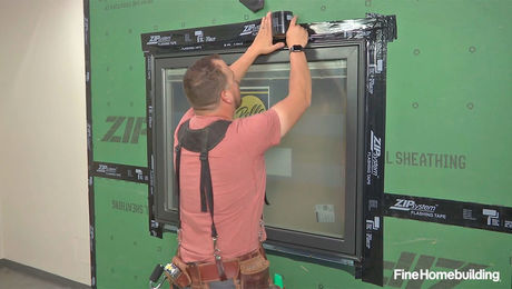 Part 3: Flash a Nail-Fin Window in a Wall With Zip System Sheathing