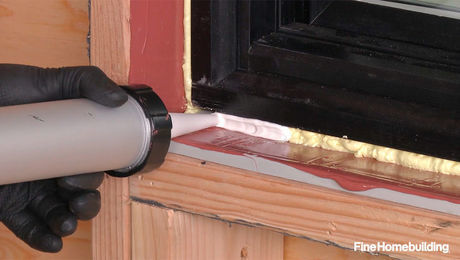 Part 4 Air Seal And Insulate A Nail Fin Window Over