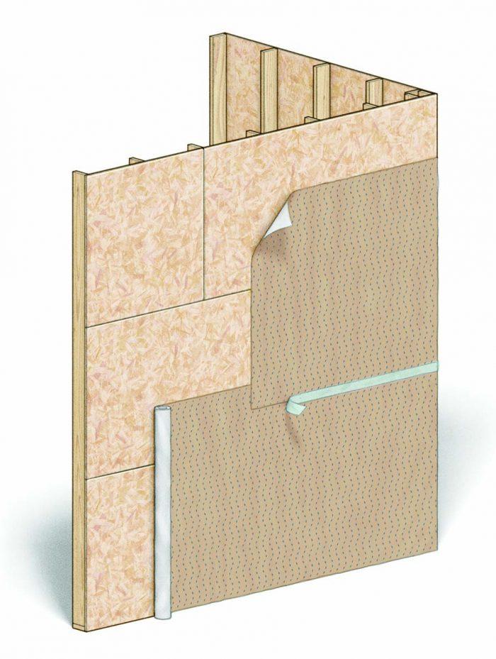 Drainable Housewraps
