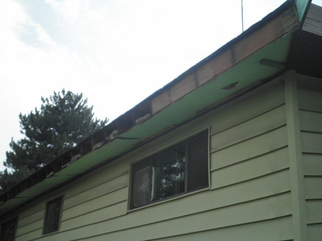 Fascia Plywood Wrapped W Aluminum Fine Homebuilding