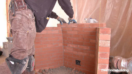 Astonishing Video Build A Fireplace Brick By Brick Beutiful Home Inspiration Truamahrainfo