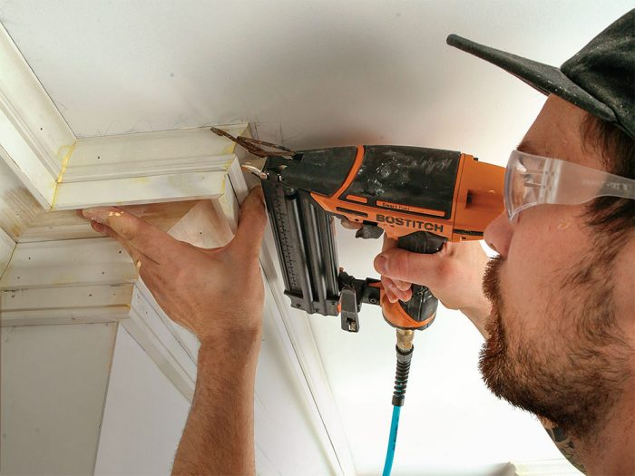 How to Install Built-up Crown Molding