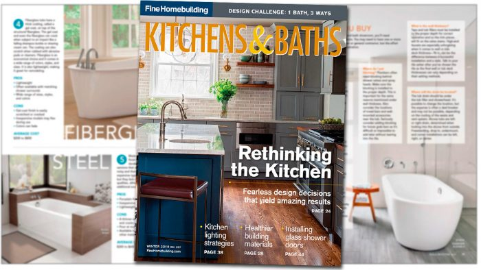 Kitchens & Baths – Winter 2019, Issue #287
