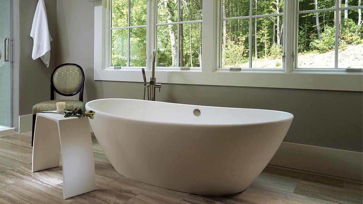 MTI Elise Acrylic Bathtub