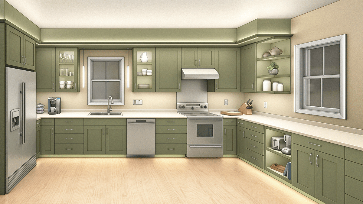 ideal kitchen lighting