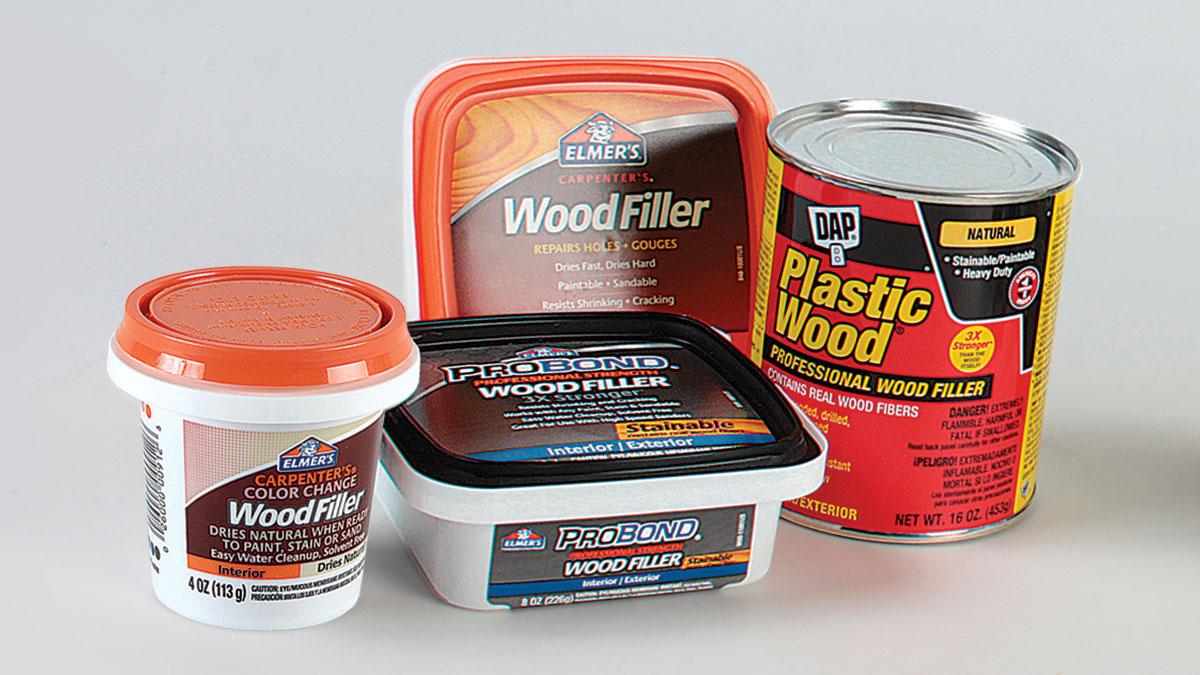 Deciding On Wood Fillers Fine Homebuilding