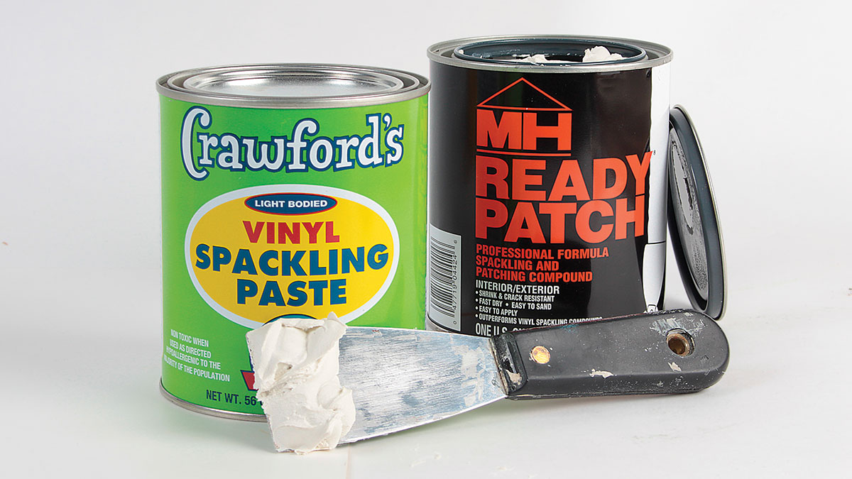 Crawford's  Vinyl Spackling Paste