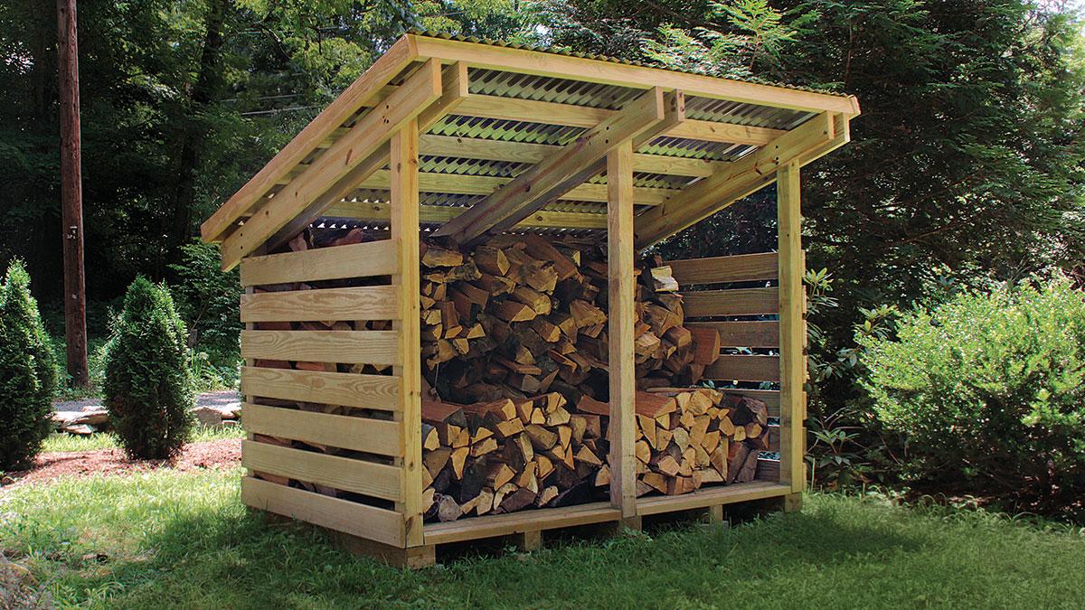 Build A Modular Modern Woodshed Fine Homebuilding
