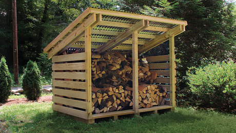 Streamlined Woodshed