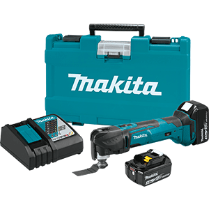 Makita XMT035 18V LXT Lithium-Ion Cordless Multi-Tool Kit