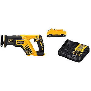 DEWALT-DCS367B-20V-Max-XR-Brushless-Compact-Reciprocating-Saw,-(Tool-Only),-with-DCB230C-20V-Battery-Pack-