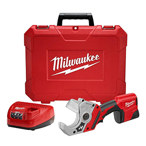 Milwaukee12-12-Volt-Lithium-Ion-Cordless-PVC-Shear-Kit-with-One-1.5-Ah-Battery