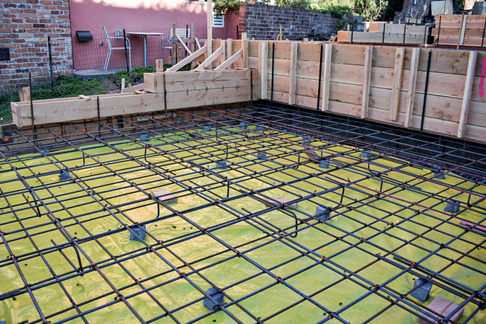 Mat Slabs An Inventive Foundation For Difficult Sites Fine Homebuilding