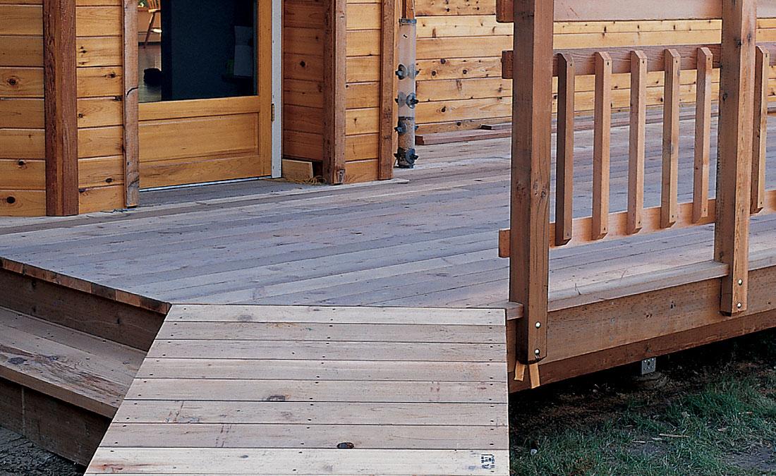 deck ramp