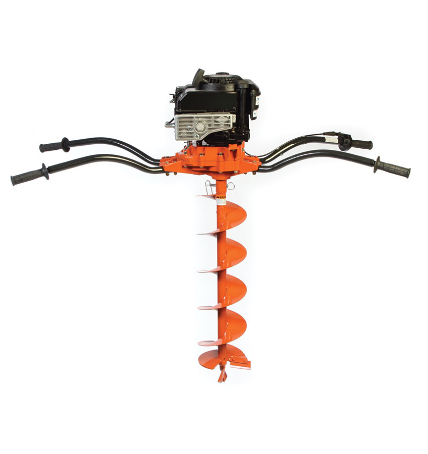 Two-person power auger