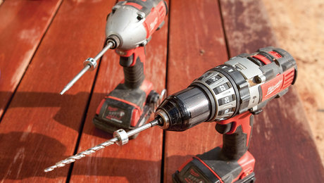 fastening and decking tools for deck building