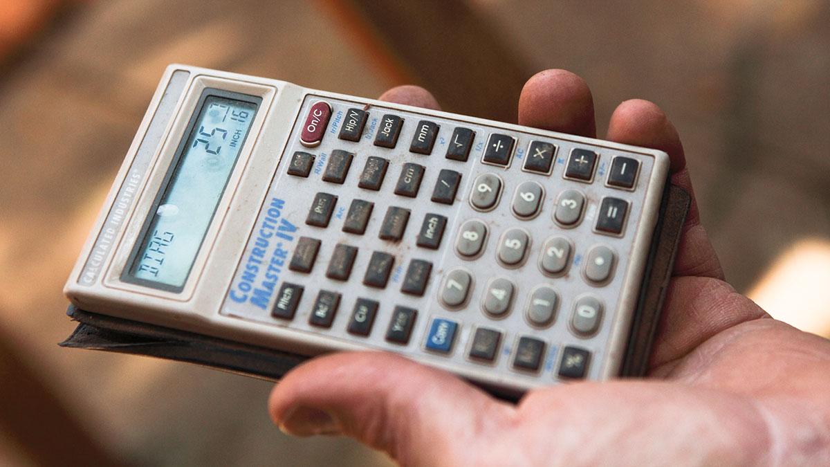 Construction calculators