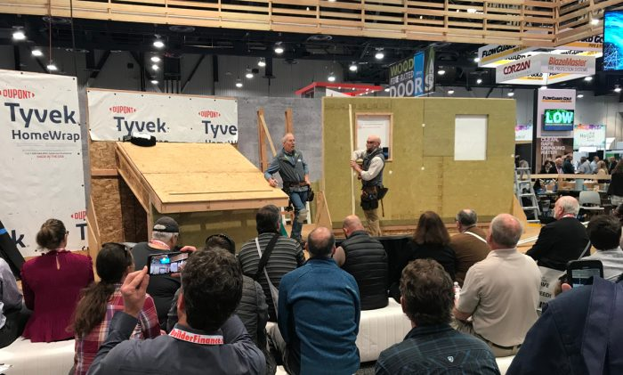 High Performance Building Zone demonstrations at IBS 2020