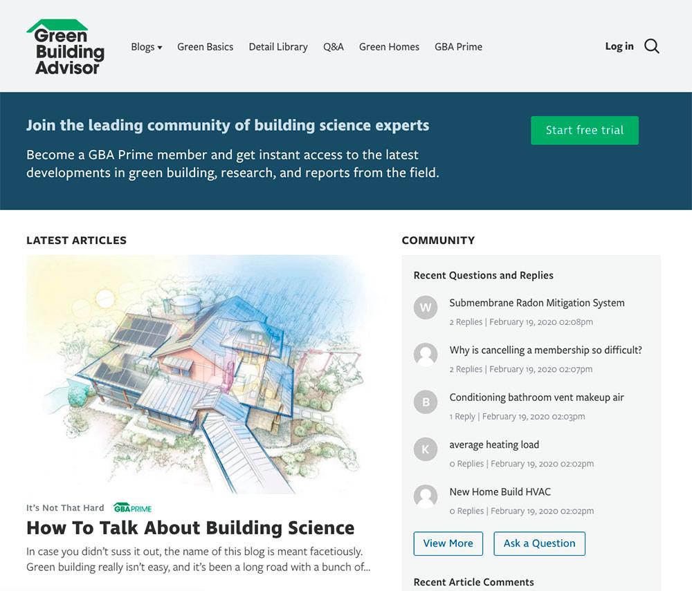 GBA-website