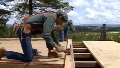 framing walls with larry haun