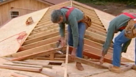 framing a roof with larry haun