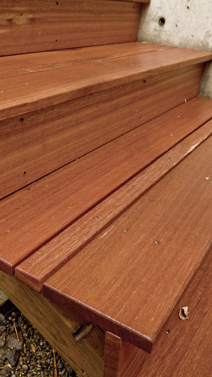 Securing Deck Stair Treads Fine Homebuilding