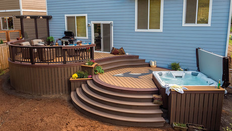guide to building a curved deck