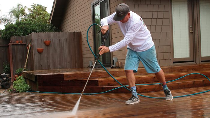 how to repair and refinish decks