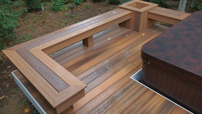 Building Benches and Planters