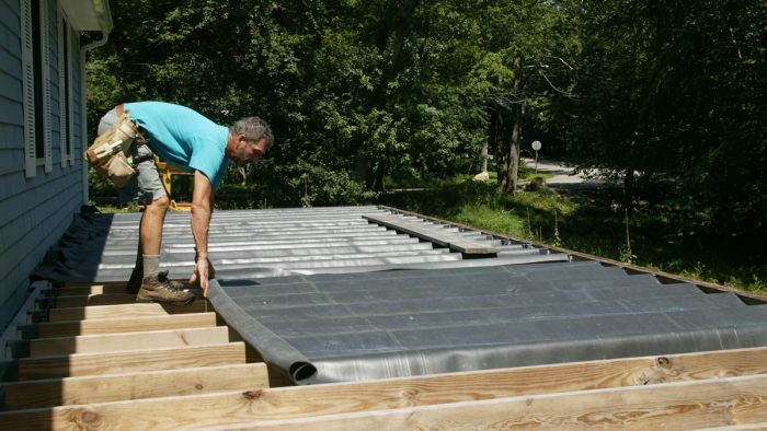 Project: Site Built Under-Deck Drainage System
