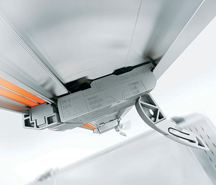hands-free kitchen drawer mechanicals
