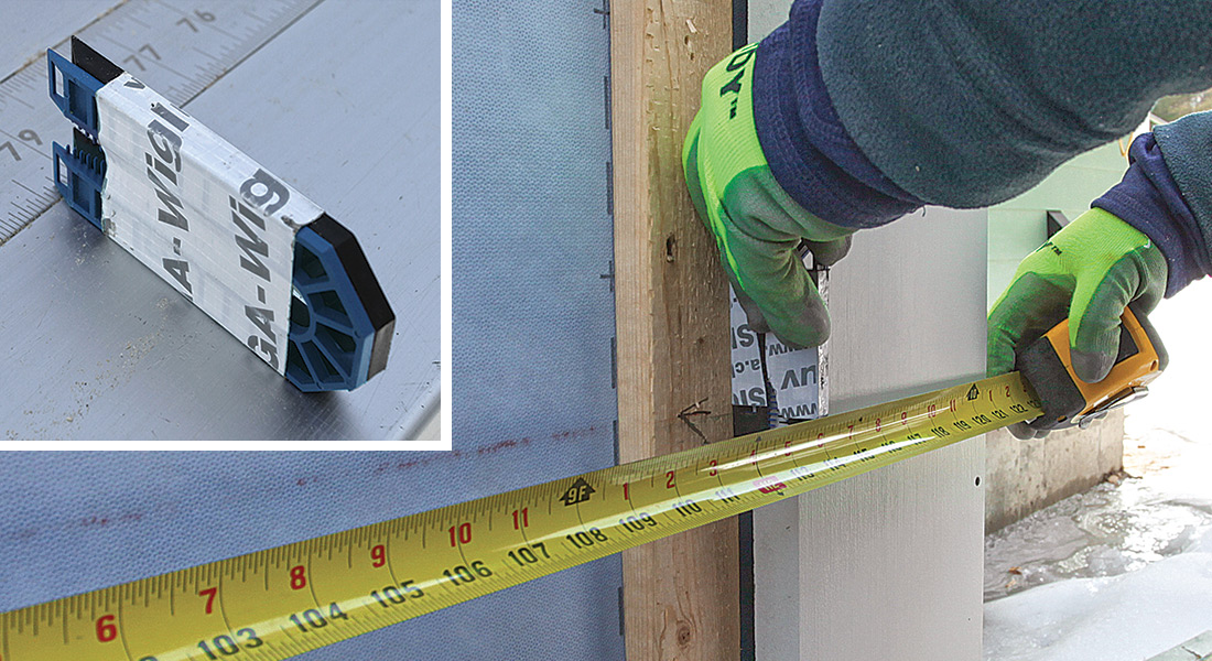 use spacers for measurements