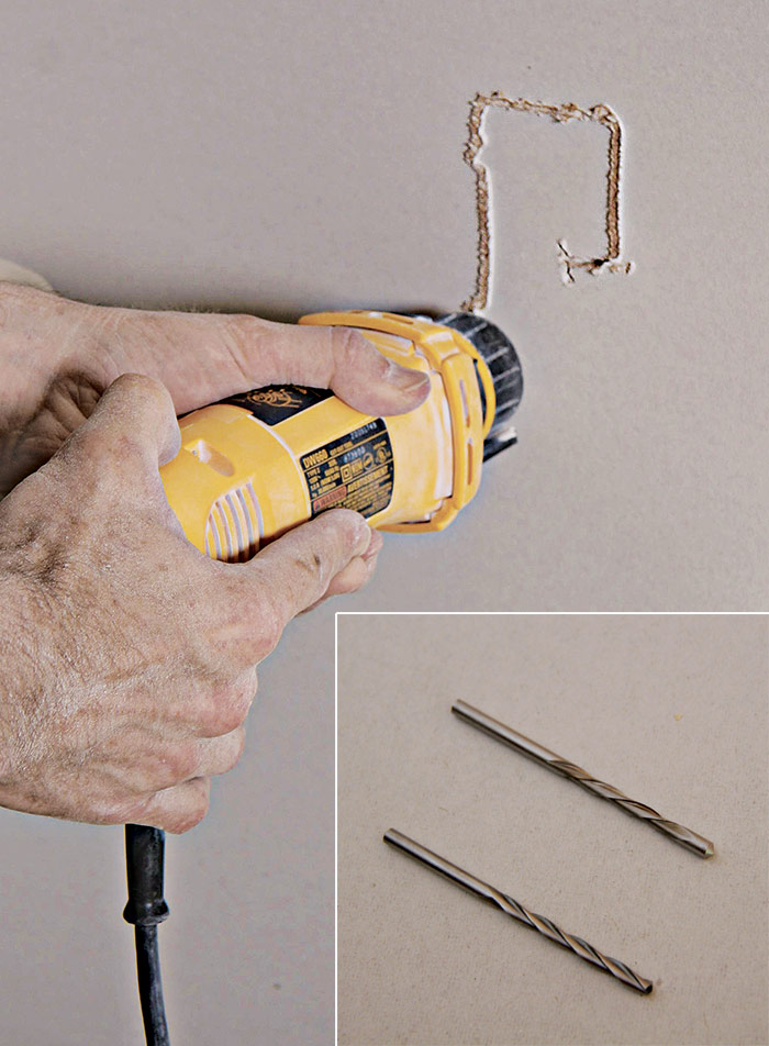 drywall router and bits