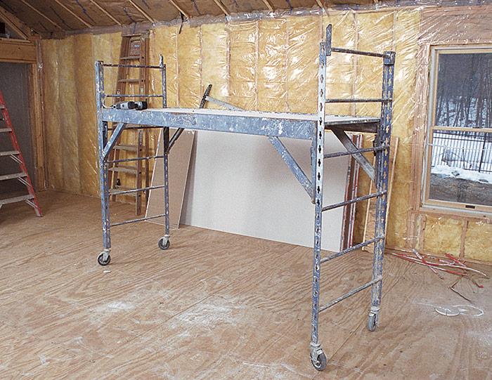 Convenient scaffolding